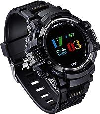GOKOO GPS Smartwatch Sportuhr, Outdoor Sport Smart Watch mit Schrittzähler, Höhenmesser, Barometer, Thermometer, Pulsmesser, Schlaf Monitor für Männer und Frauen, Activity Tracker für Android und IOS