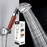 Kusun® Handbrause Hoher Druck Wasserspar dusche duschkopf Ionenfilter Wassereinsparung Ionic Shower Filter Chlor Filtration Showerhead