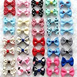 Best Headdresses - Pinkdose® As Picture Show, M: 20Color/Lot Pet Bows Review