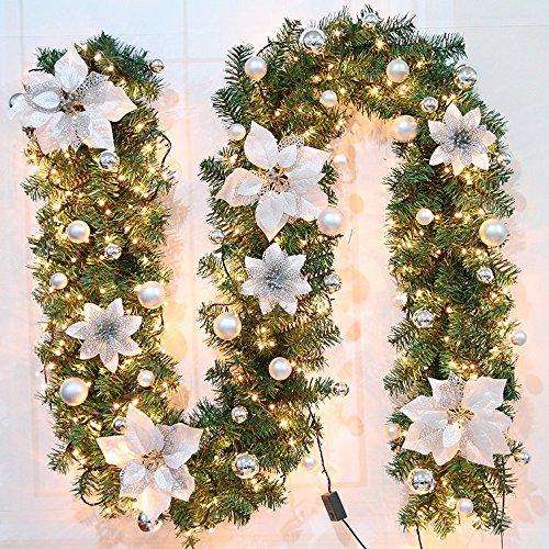 Awesome ghirlande corone finestra di natale caminetto - Decorazioni ghirlande natalizie ...