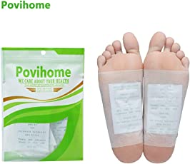 Lepakshi Povihome 120PcsBag Detox Foot Pads Patch Health Care Foot Care Tools A