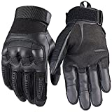 Best Motorcycle Riding Gloves - Men's Full Finger Touch Screen Gloves Outdoor Sports Review