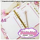 A5 - Personal - REFILL handmade per agende planner di Frola la fragola per Lista dei Desideri