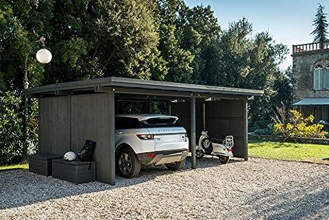 dafnedesign. COM–Box Auto–Carport Doppel 641x 472-Verwenden selbst oder als Element ursprünglichen für Carport Modulare