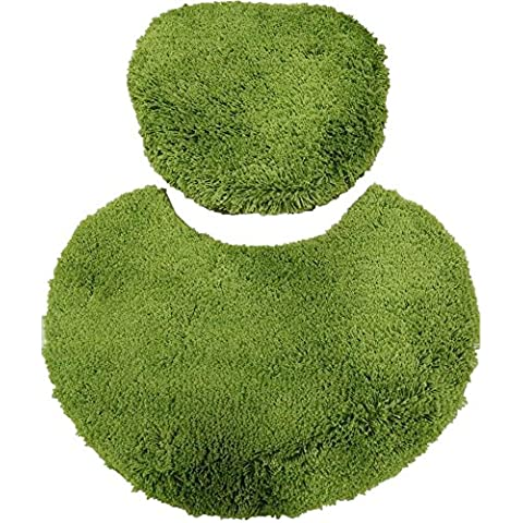 tappetino antiscivolo bagno/Bagno 3pezzi giardino, 2, 45*60cm, 50*50cm