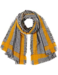 Only Onlhilde Check Woven Scarf Echarpe Femme
