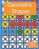 Creative Therapy : Geometric Shapes Coloring Book for grownups