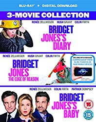 Bridget Jones 3-Film Collection (Bridget Jones's Diary/Bridget Jones: The Edge Of Reason/Bridget Jones's Baby) [Blu-ray + Digital Download] [2016]