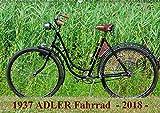1937 ADLER Fahrrad (Wandkalender 2018 DIN A2 quer): Adler Damenfahrrad von 1937 (Monatskalender, 14 Seiten ) (CALVENDO Kunst) [Kalender] [Apr 01, 2017] Herms, Dirk