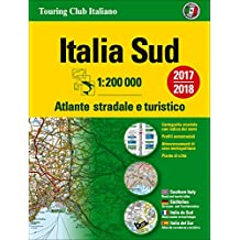 Italy South Atlas - Atlante Stradale Sud: TCI.A3