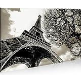 islandburner Eiffel Tour Paris 1p * Tableau sur Toile Poster Tableaux Images Impression Artistique