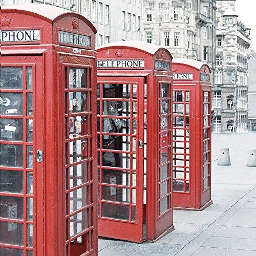 Apple iPhone 5s Housse étui coque protection Cabine téléphonique rouge Angleterre Grande-Bretagne Étui en cuir gris