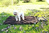Kaxima Hundematte Faltbare Outdoor Portable Pet Mat Hund Kissen Katze Matte Warme Pet Decke Lamm Fleece M