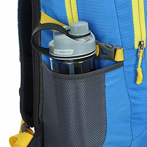 AllureFeng Outdoor wasserdicht Bergsteigen Taschen bulk-Bewegung von Männern und Frauen reisen Fitness pur Rucksack Rucksack Laptop-Tasche Red