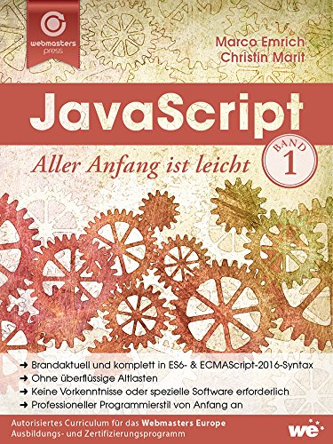 JavaScript: Aller Anfang ist leicht Buch-Cover