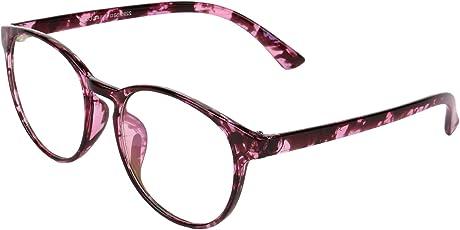 Zyaden Full Rim Multicolor Round Unisex Eyewear Frame (Frame-A191|50|Transparent)