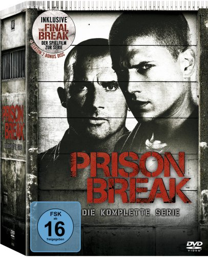 Bild von Prison Break - Die komplette Serie (inkl. The Final Break) [24 DVDs]
