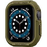 Spigen Apple Watch Seri 6/SE/5/4 (40mm) ile Uyumlu Kılıf Rugged Armor / Olive Green - 061CS26014