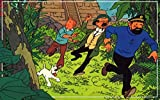 #5: Athah Designs Wall Poster 13*19 inches Matte Finish The Adventures Of Tintin