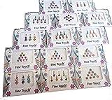 50paquetes de bindi–al por mayor bindis indio Bindi Pegatinas Multicolor Bindi Frente joyas indio Tika