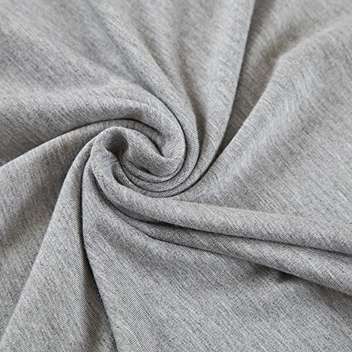 Chicwe Damen Modal Jersey Große Größen Unterhemd Westernhemden EU44-60 Grau