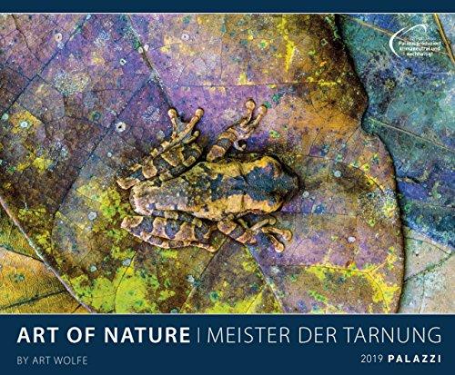 ART OF NATURE 2019: MEISTER DER TARNUNG - Tierkalender -Großformat 60 x 50 cm