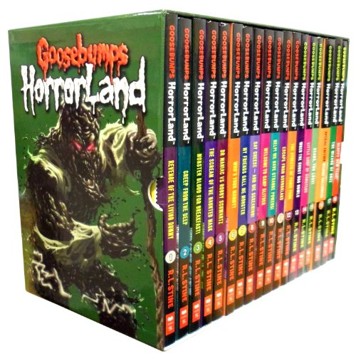 Goosebumps Horrorland Series Collection R L Stine 18 Books Box Set (Revenge o...