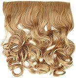 BiYa Hair Elements Thermatt Extensions de cheveux bouclés Blond fudge, 14/16/61350/100g