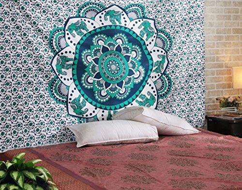 hippie-indiano-mandala-elefante-arazzo-cotone-floreale-tappezzerie-boho-parete-lenzuolo-con-rajrang