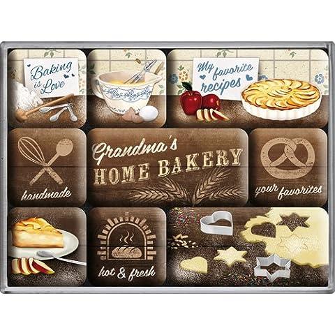 Nostalgic-Art 83066 Calamite da frigo – Home Bakery