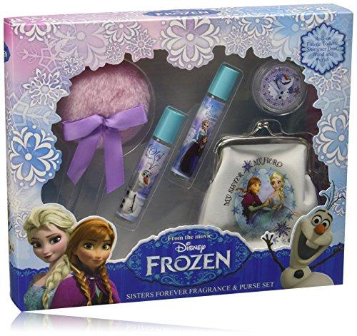 Disney frozen beauty case con due profumi roll on - confezione da 2 x 8 ml