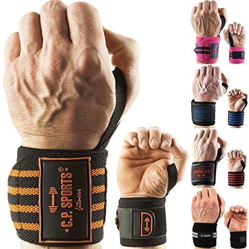 "C.P. Sports Handgelenkbandagen"" Das Original"" / Bänder/Bandagen Bodybuilding, Handgelenkbandage, Fitness (Blau)"