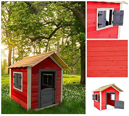 Home Deluxe   Spielhaus   Das kleine Schloss (Kinder-holz-outdoor-spielhaus)