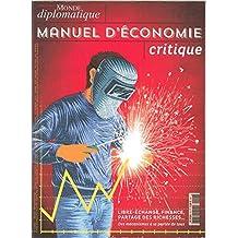 Monde Diplomatique N 7 Manuel d Économie Critique