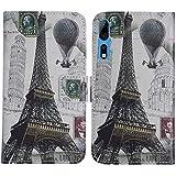 TienJueShi Eiffel Tower Fashion Style TPU Silicone Book
