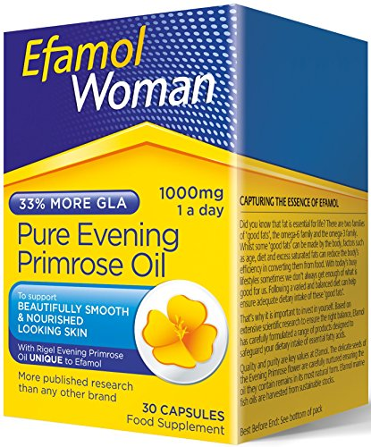 Efamol Efalex 1000mg Evening Primrose Oil - Pack of 30 Capsules