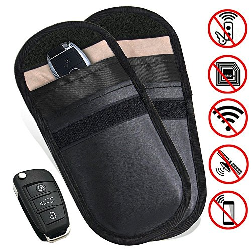 2 X Car Key Signal Blocker Case,...