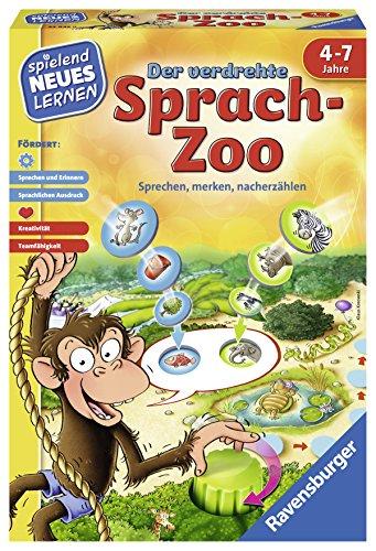Ravensburger 24945 Der Verdrehte Sprach-Zoo Lernspiel