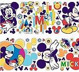 Mickey Wand-Sticker Wandsticker Wandtatto Kinderzimmer Spielzimmer