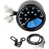 Contachilometri moto Contagiri Kit contachilometri digitale LCD universale per moto