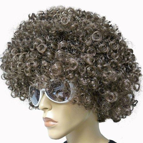 Preisvergleich Produktbild Alsino Braune Atze Mega Funky Party XXL Afro Atzen Perücke