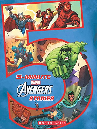 5-Minute Avengers Stories (Marvel Avengers Infinity War)