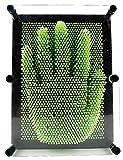 Ailiebhaus Pinart 3D Nagelbrett Skulptur Pinpressions 25.5*21*4.5 CM, Grün