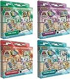 Pokémon TCG: mazzi di carte campionati del mondo 2017 set da 4 mazzi di carte per debuttante