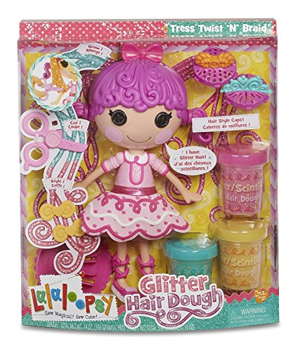 Lalaloopsy Glitzer Haar Teig Puppe (Puppen Lalaloopsy Neue)