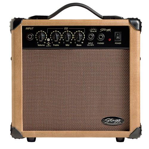 Stagg 10 AA UK 10 W Akustikgitarre