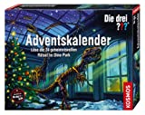 KOSMOS 631123 Die drei ??? Adventskalender - Rätsel im Dino-Park