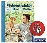 KOSMOS Welpentraining mit Martin Rütter Gebundene Ausgabe + I Love My Dog Sticker by Collectix