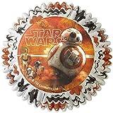 Wilton Star Wars 7, Das Erwachen der Macht - Muffinförmchen, Muffinformen, in 2 Designs - 50 Stk. für Muffin, Cupcake und co