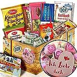 Ich liebe dich - Liebes Geschenk - Ossi Paket Schokolade